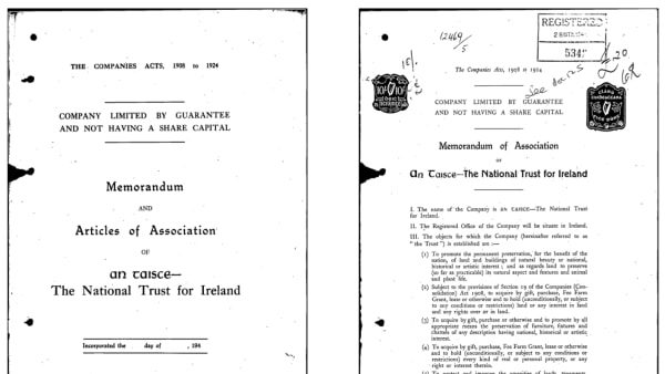 1948 Constitution of An Taisce
